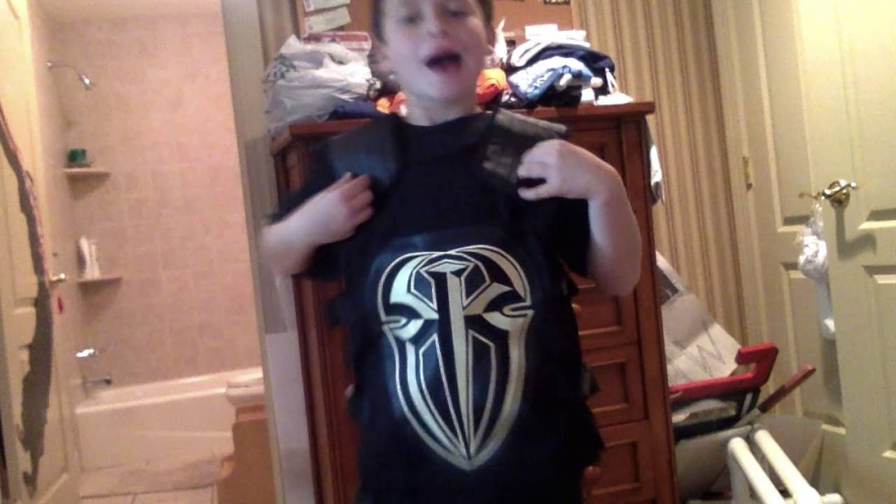 2ece9165f531c WWE Roman reigns gold replica vest review - YouTube