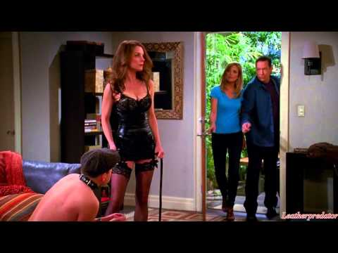 Two and a Half Men (TV-series 2014) - leather scene HD 720p from YouTube · Duration:  45 seconds