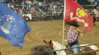 Grand Entry Wojo Rodeo Finals 2017