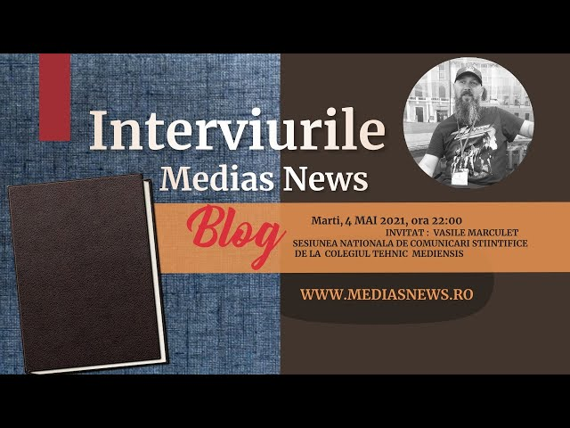 Prof. dr. Vasile Marculet la Interviurile Medias News Blog