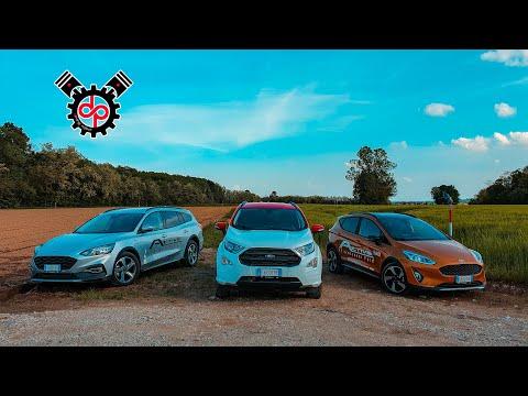 Ford: Focus SW Active & Fiesta Active VS Ecosport   1.0 Ecoboost & 1.5 Tdci