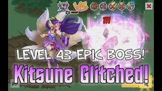 Knights and Dragons: EPIC BOSS GLITCH!!! Unlimited Epic Boss Energy | Kitsune 43 Kill!