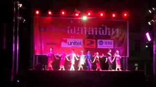 Lao's traditional dance ບົດຟ້ອນ ເຜົ່າລາວສຳພັນ ໂດຍ ລາວບັນຈົງ