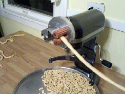 Pt 1 Homemade Cavatelli Using My Home Built KitchenAid ...