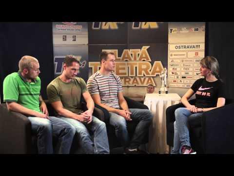 Vítězslav Veselý, Petr Frydrych, Jakub Vadlejch - rozhovor ve studiu