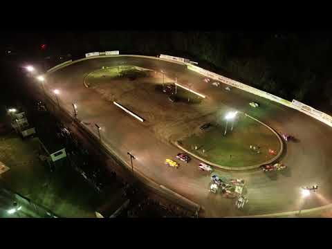 Cole Hentschel Battle of the Bullring Sportman Flip at Accord Speedway