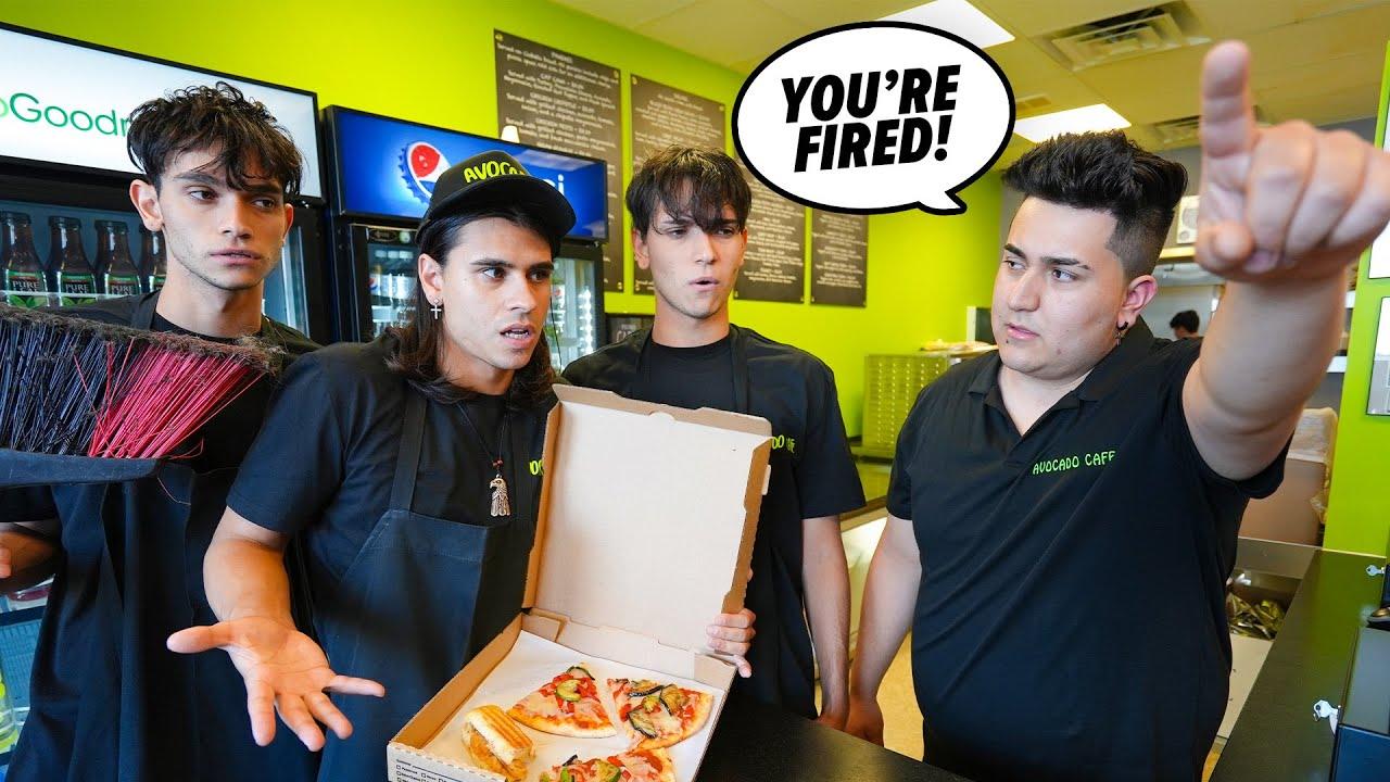 We got fired...