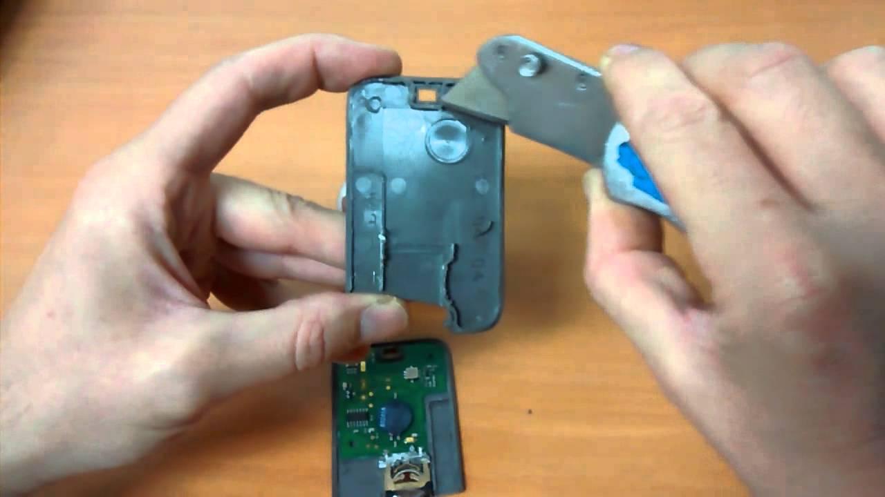 Reparar tarjeta llave de renault youtube for Como reparar la llave dela regadera