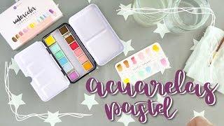 Prima pastel dreams watercolour palette | Acuarelas pastel