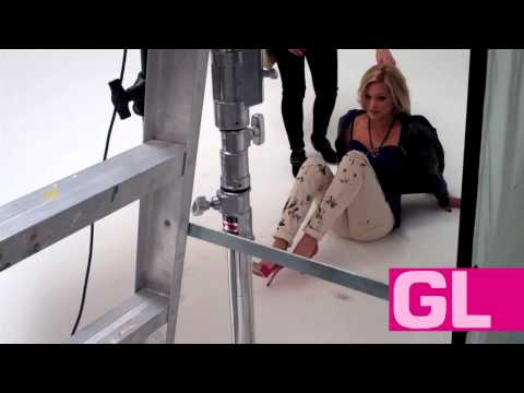 Behind the scenes: Olivia Holt
