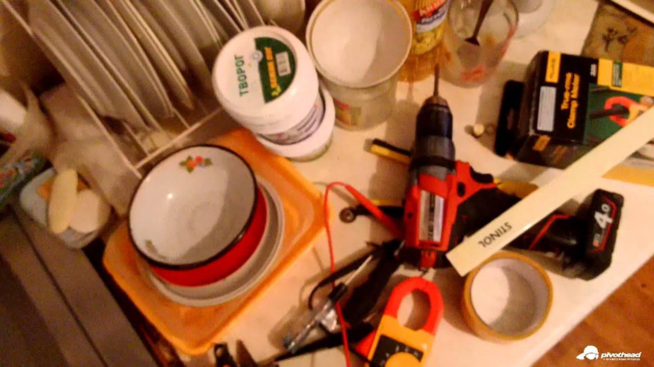 Ремонт холодильника STINOL КШ-310/40. Замена термостата.