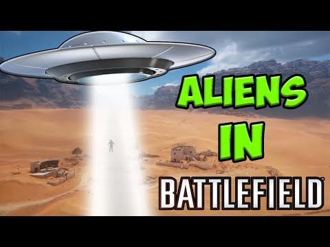 ALIENS IN BATTLEFIELD 1!!!  [ battlefield 1 aliens ,   bf1 , battlefield 1 funny moments ]