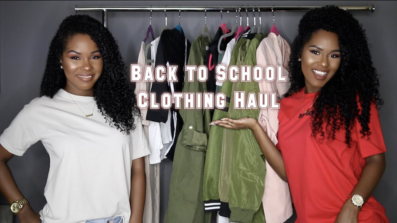 74aad9a6bba39 Back To School TRY ON FashionNova Haul - YouTube