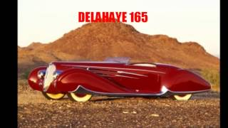 Supercar: art deco cars of the 30