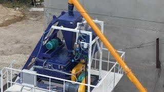 Блок дозаторов БД. Модернизации 2015 года от ZZBO. Дозатор цемента, воды и хим добавки