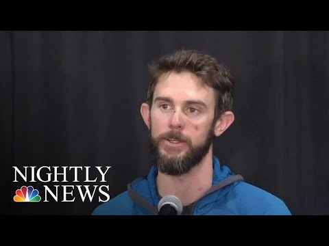 CO Man Who Fought Off Mountain Lion Speaks Out With A Warning For Other Hikers | NBC Nightly News