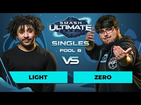 Light vs ZeRo - Singles Pool B: Round 1 - Smash Ultimate Summit thumbnail