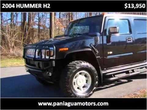 Paniagua Auto Sales >> 2004 HUMMER H2 Used Cars Dalton,chattanooga,atlanta GA - YouTube