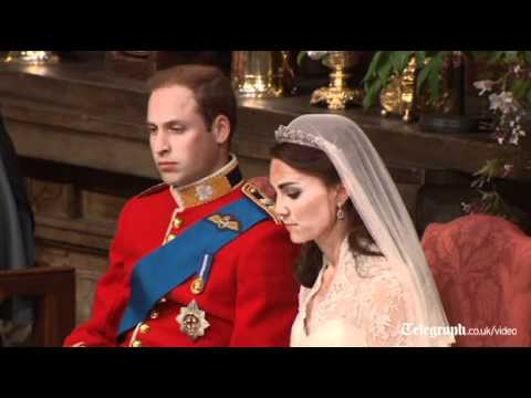 Royal Wedding Video Highlights Of The Ceremony Of The Wedding Of