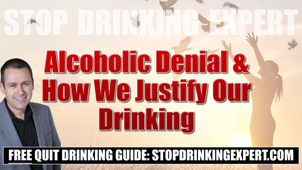 why are alcoholics in denial