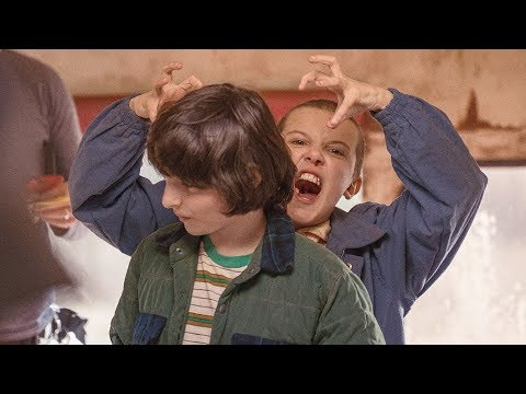 Stranger Things Season 1 Behind The Scenes Stills