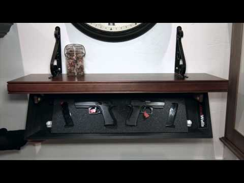 Tactical Walls -- Not Your Father's Gun Safe