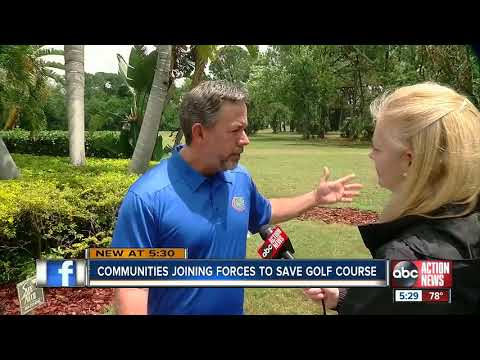 Communities joining forces to save golf courses in Pinellas County