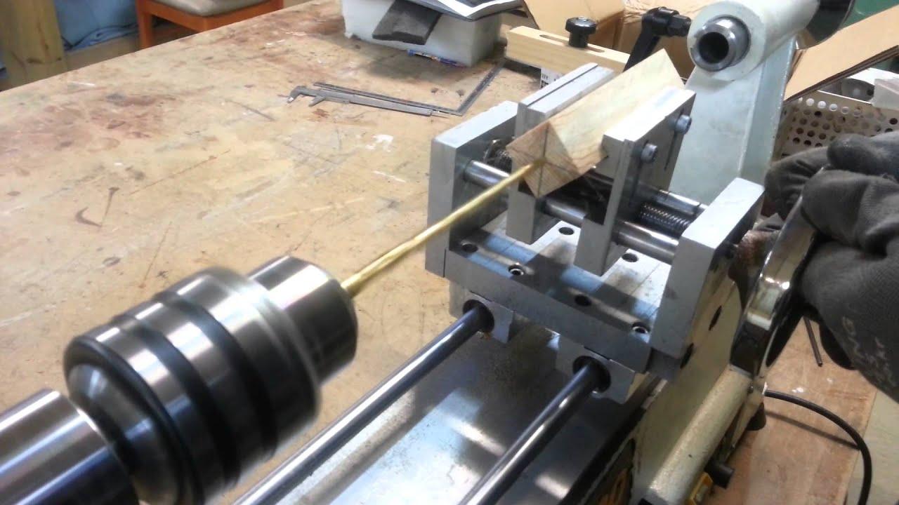 Wood Lathe Drilling Jig Youtube