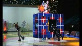 Бременские музыканты на льду.