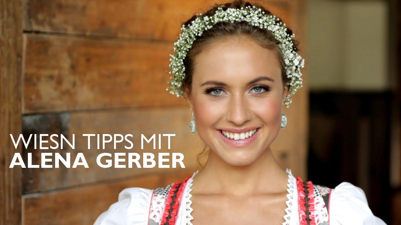 Oktoberfest MUSTHAVES  Blumenkranz DIY von ALENA GERBER  OTTO  YouTube