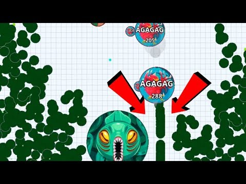 Agar.io Solo Hacker Killer Macro Feed Hack Pro Dominating Agar.io Mobile Gameplay