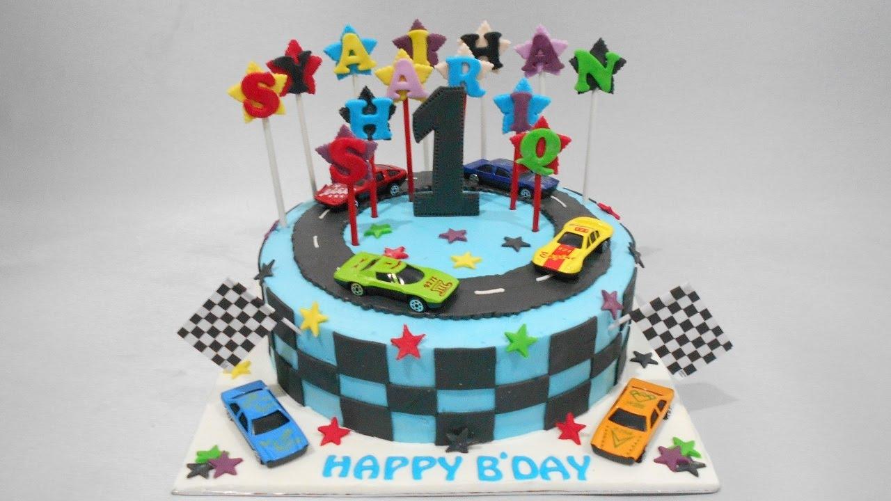 Nascar Birthday Cake Images