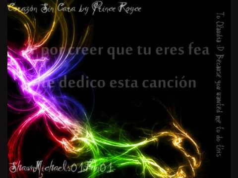 Corazon Sin Cara - Prince Royce [Lyrics on Screen +Eng. Tran.]
