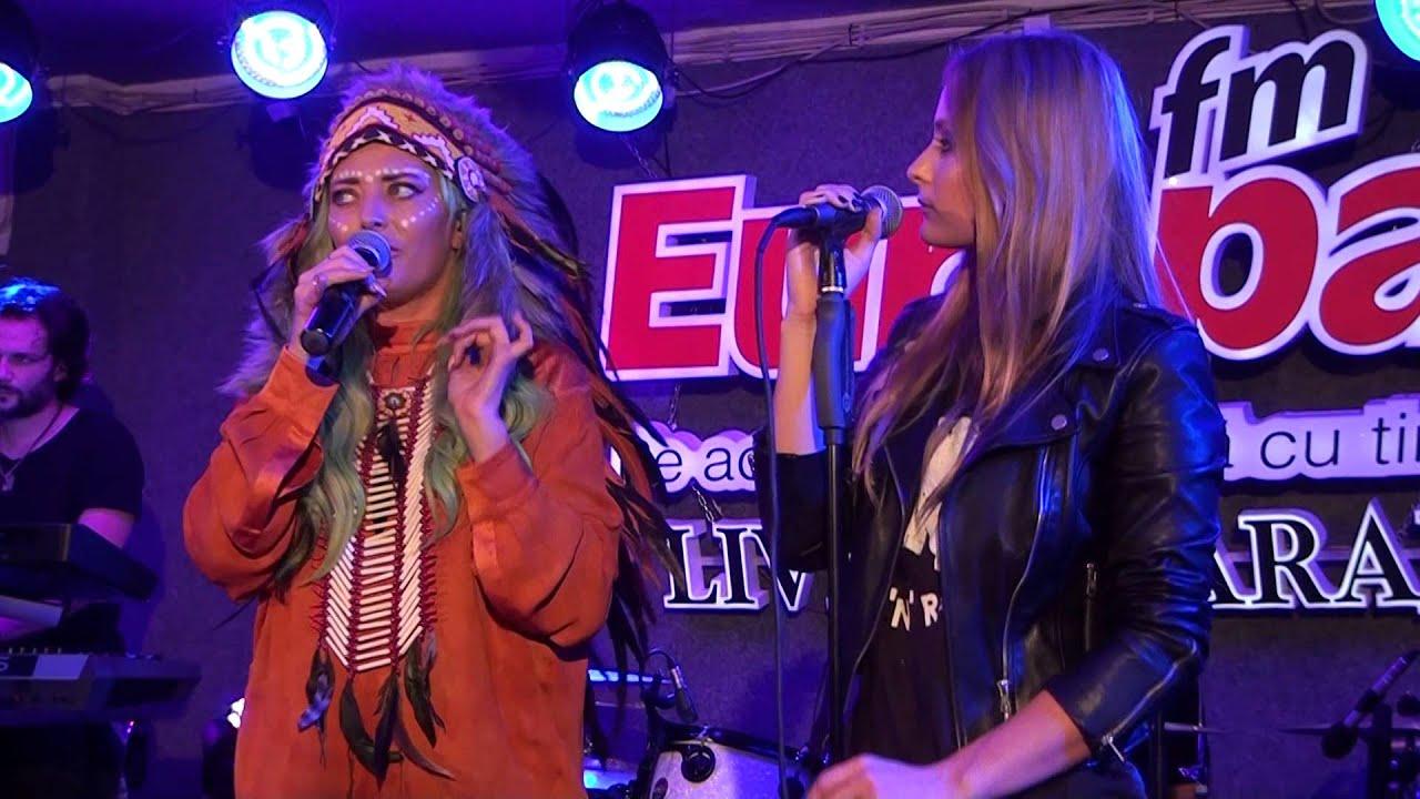 Delia - Pe aripi de vânt LIVE în Garajul Europa FM - YouTube