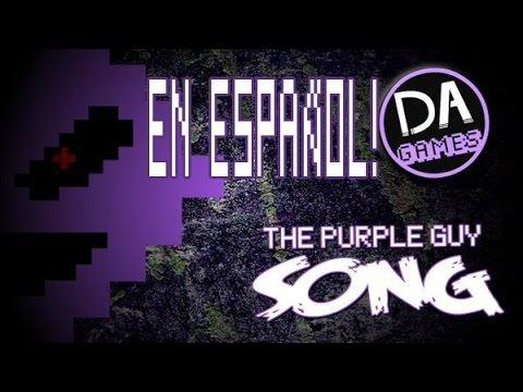 I'm The Purple Guy (FNAF 3 SONG) - SUB ESPAÑOL