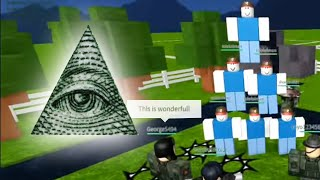 FAKE HACKER ARMY TROLLING ON ROBLOX! #3