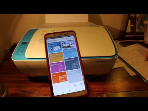 How To Print & Scan To HP Deskjet 3632 Printer From Your Android Phone   HC