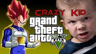 Vegeta Trolls Angry Kid On GTA 5 |HD|