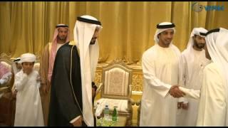 هزاع وسيف ومنصور بن زايد وعدد من الشيوخ يحضرون حفل زفاف المسعود