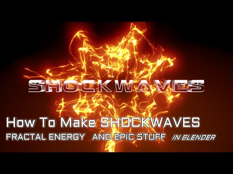 How to make epic shockwaves entirely in Blender