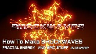 How to make epic shockwaves entirely in Blender