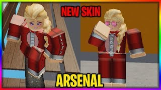 NEW ANNA SKIN! ARSENAL! ROBLOX