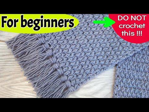 Hoe je een sjaal haakt-haken voor beginners-doe-het-zelf tutorial