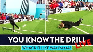 Whack it like Wanyama! | You Know The Drill | Jimmy Bullard vs Seann Walsh vs Will Greenwood