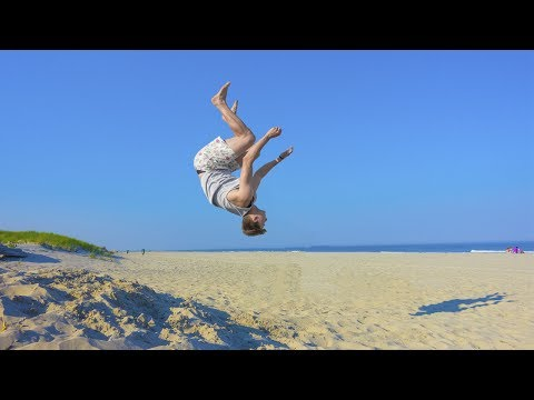 Thumbnail: BEACH BACKFLIP!!