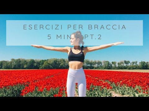 Esercizi Per Le Braccia: Tonifica In 5 Min E Senza Pesi - Pt. 2