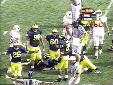 2000: Michigan 13 Wisconsin 10 (PART 1)
