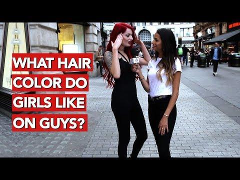 What Hair Colour Do Girls Like On Guys?