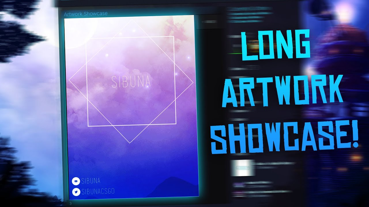 Custom Height Steam Artwork Showcase Tutorial Youtube