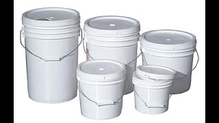 RECYCLE PAINT BUCKETS/NEW AND EXCLUSIVE IDEAS/ZAHA DIY